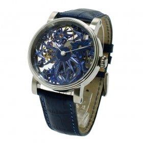 海外取り寄せ品 シャウボーグ BLUE ICE 腕時計 メンズ SCHAUMBURG ブルーアイス Unikatorium Handmad