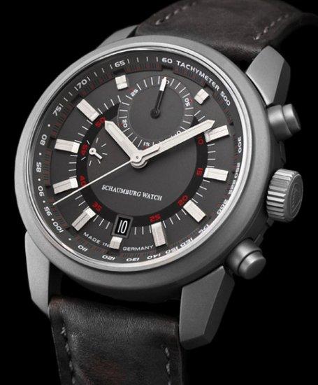 シャウボーグ AQM-BULLFROG-CHV 腕時計 メンズ SCHAUMBURG AQM ブルフロッグ クロノヴィジョン