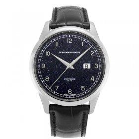特価品 シャウボーグ パノラマ ゴールドストーン PANORAMA-GDSTN 腕時計 メンズ 自動巻き SCHAUMBURG watch 世界限定75本 限定モデル ブルーゴールドストーン 天然石