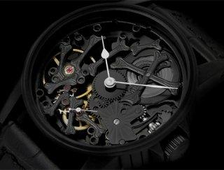 シャウボーグ PALAONHOROLOGIE-BKPVD   ウニカトリウム パレオンオロロジー 腕時計 メンズ SCHAUMBURG UNIKATORIUM