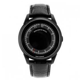 シャウボーグ ミスティック ブラック DISK MYSTIQUE-PVD メンズ 腕時計 自動巻 SCHAUMBURG