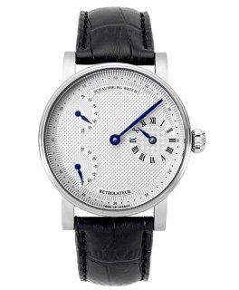 シャウボーグRETROLATEUR1-SL 腕時計 メンズ 機械式時計 手巻き レトロレーター SCHAUMBURG watch