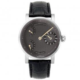 シャウボーグ レトロレーター RETROLATEUR3-GY グレーダイヤル/ゴールドハンズ 腕時計 メンズ SCHAUMBURG watch