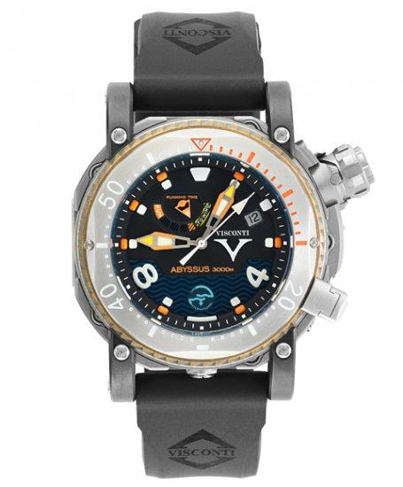 ビスコンティ スキューバ アビサス 3000M. W108-02-132-1408 チタニウム Scuba Abyssus 3000M. 腕時計