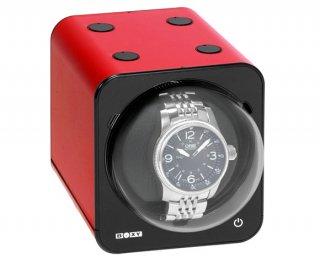 ボクシーデザイン ファンシーブリック ウォッチワインダー FBWF-RD アダプター付 ※時計は含まれません