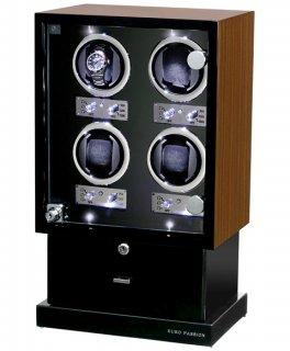 ユーロパッション  ウォッチワインディング ボックス アダプター付 FWD-12100EB   ※時計は含まれません