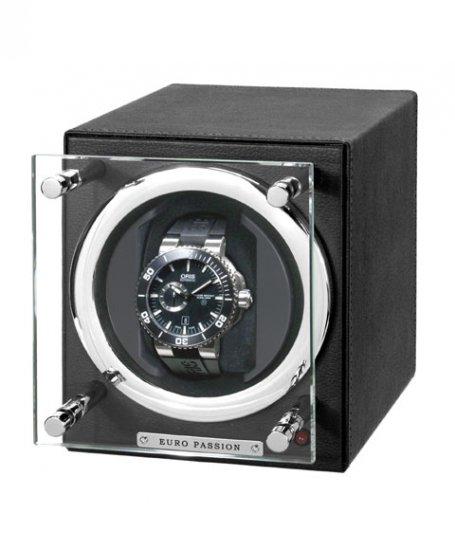 海外取寄せ(納期:3~4か月後)ユーロパッション  ウォッチワインディング ボックス アダプター付 FWC-1119LBK ※時計は含まれま…