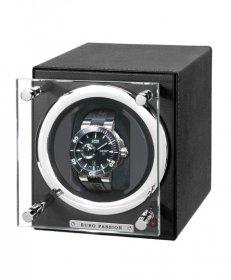 ユーロパッション  ウォッチワインディング ボックス アダプター付 FWC-1119LBK ※時計は含まれません
