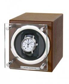 ユーロパッション  ウォッチワインディング ボックス アダプター付 FWC-1119LBR ※時計は含まれません
