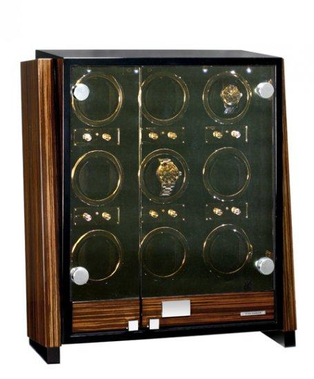 予約受付中(納期:約3~4か月後) ユーロパッション ウォッチワインディング ボックス アダプター付 FWD-9101EB  ※時計は含まれておりま…