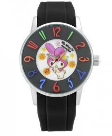 訳ありアウトレット マイメロディ アモンリザ ALMM1240BKBK  40th アニバーサリー レディース 腕時計 My Melody