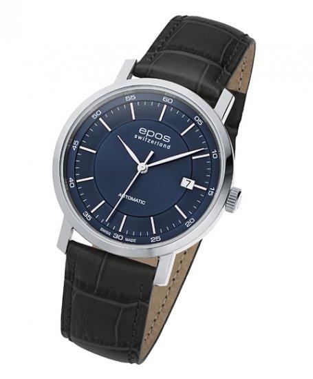 エポス オリジナーレ デイト 3387BL 腕時計 メンズ 自動巻 epos