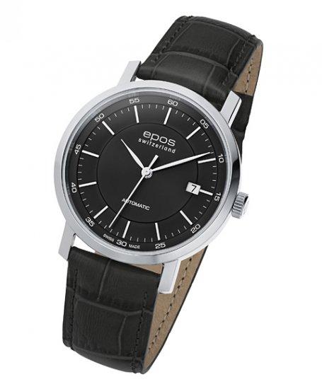 エポス オリジナーレ デイト 3387BK 腕時計 メンズ 自動巻 epos