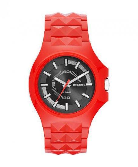 ディーゼル スタッド DZ1647 レッド 腕時計 メンズ DIESEL STUD