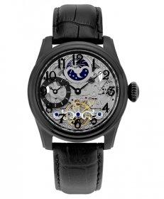 特価品 アルカフトゥーラ メカニカルスケルトン ツインバレル 965EBK 自動巻 腕時計 メンズ ARCAFUTURA