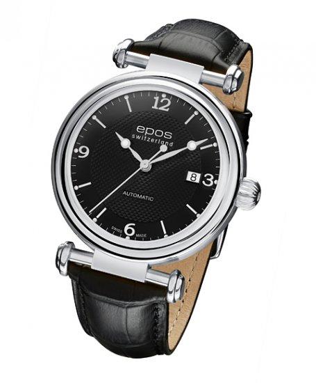 エポス オリジナーレ デイト 3430BK 腕時計 メンズ 自動巻 epos