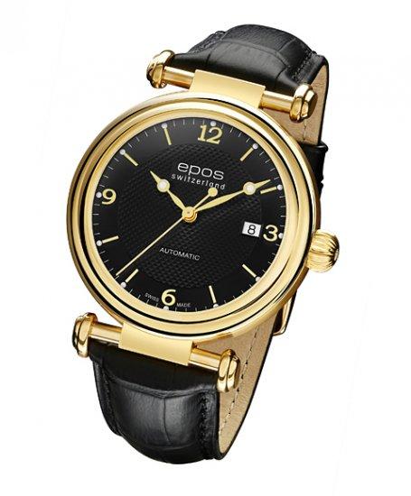 エポス オリジナーレ デイト 3430YGA4BK 腕時計 メンズ 自動巻 epos