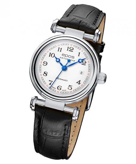エポス オリジナーレ デイト レディース 4430WH 腕時計 自動巻 epos