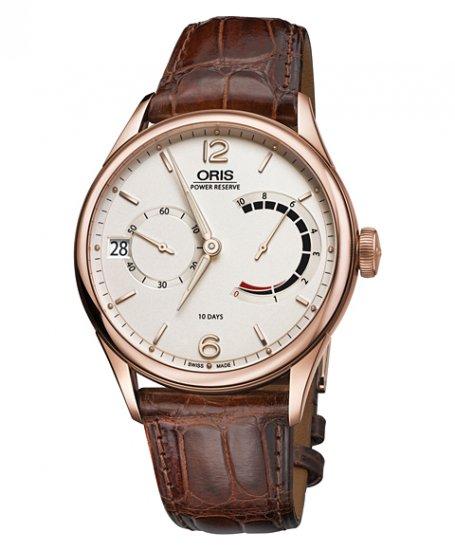 オリス キャリバー111 111 7700 6061F(茶) 腕時計 メンズ 手巻き Oris Calibre111