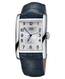 オリス レクタンギュラー デイト 56176934031D 腕時計 メンズ 自動巻 Oris Rectangular 561 7693 4031D レザーストラップ アウトレット