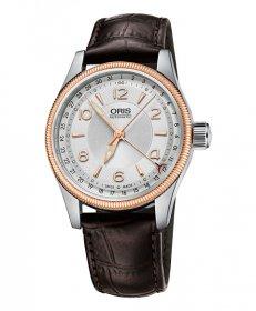 オリス ビッグクラウン ポインターデイト 75476794331D 腕時計 メンズ 自動巻 Oris Big Crown 754 7679 4331D レザーストラップ