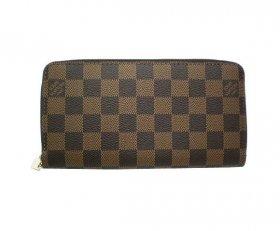 ルイヴィトン 長財布 ジッピーウォレット ダミエ N60015 LOUIS VUITTON 財布 レディース メンズ