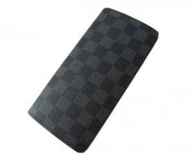 即納可能!ルイヴィトン 二つ折長財布 ダミエグラフィット ブラザ LOUIS VUITTON N62665 レディース メンズ