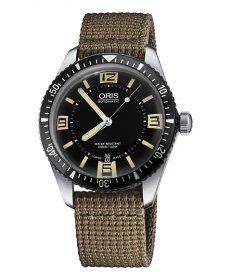 オリス ダイバーズ65 73377074064F (テキスタイル/ベージュ) 腕時計 メンズ 自動巻 Oris Divers 733 7707 4064F
