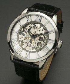 サルバトーレマーラ SM16101-SSWH 腕時計 メンズ スケルトン 手巻き Salvatore Marra