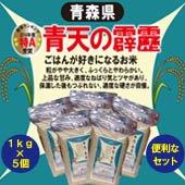 【令和1年度】青天の霹靂(へきれき)<1kg×5個>[送料別]青森県