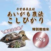 【令和2年産】<無洗米>長生村あいがも農法<長生米ながいきまい・減農薬> 千葉県 [送料別]