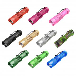 超小型 防水 LED ハンディライト