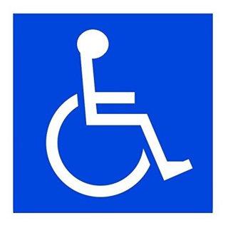 車椅子ステッカー