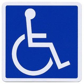 車椅子 マグネットステッカー