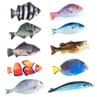 魚型ポーチ