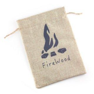 麻袋(「fire wood」デザイン)