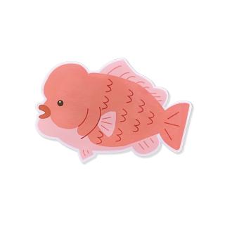 ステッカー 可愛いアニメ調のお魚シリーズ コブダイ