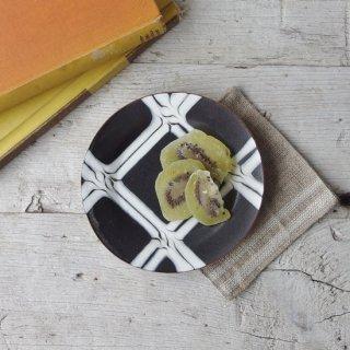 つくも窯 場 天伸-4寸リム皿
