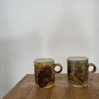 (hoshiko様ご予約商品) 奥村陶房 奥村伸介-マグカップ