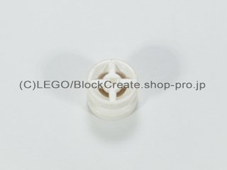 #4624 ホイール 8x6【白】 /Wheel Rim 8x6.4 :[White]
