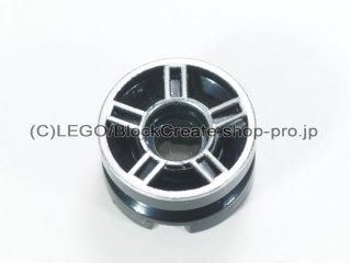 #51719 ホイール 11x6【黒】 /Rim 11.2X6.2 with Hole and Silver Spokes Design :[Black]