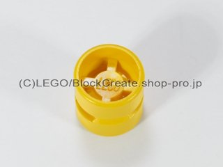 #6014 ホイール 11.5x12 ノッチ穴【黄色】 /Wheel Rim Wide 11x12 with Notched Hole :[Yellow]