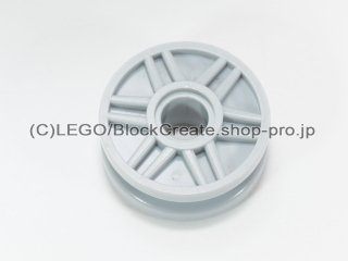 #56902 ホイール 18x8【新灰】 /Rim Narrow 18x7 and Pin Hole with Shallow Spokes :[Light Bluish Gray]