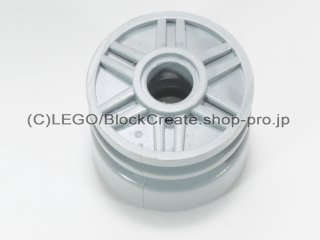 #55981 ホイール 18x14【新灰】 /Wheel Rim 18x14 with Pin Hole :[Light Bluish Gray]