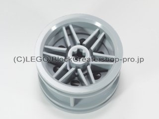 #56145 ホイール 30.4x20【新灰】 /Wheel Rim 30x20 with No Pinholes :[Light Bluish Gray]