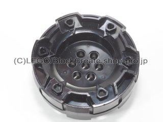 #11094 ハードホイール 7ピン穴&6スモールホール【黒】 /Wheel with 3.2 2.3 :[Black]