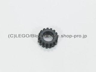 #87414 タイヤ オフセット トレッド スモール【黒】 /Tire 15x6mm with Offset Tread :[Black]