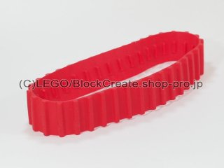 #53992 トレッド ラージ【赤】 /Caterpillar Track with Thirty-Six Ridges :[Red]