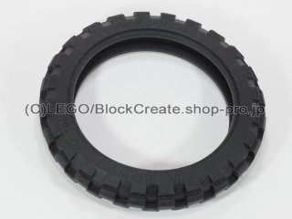 #2902 タイヤ 81.6x15【黒】 /Tyre 81.6x15 Motorcycle :[Black]