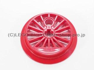 #85489 トレイン ホイール 30mm フランジ【赤】 /Train Wheel Large 30 with Axlehole and Pinhole with Flange :[Red]